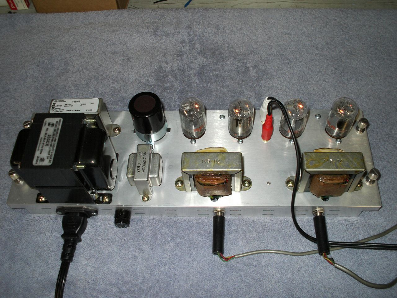 randy miller\u0027s 6t9 compactron vacuum tube diy audio amp Guitar Tube Amps