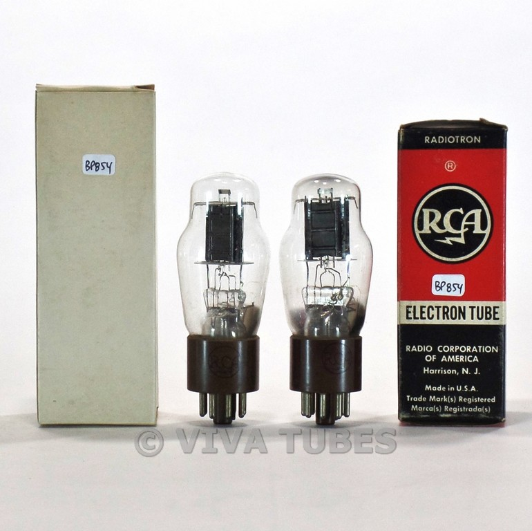 NOS Vintage Made in USA RCA Electron Tube 6F5